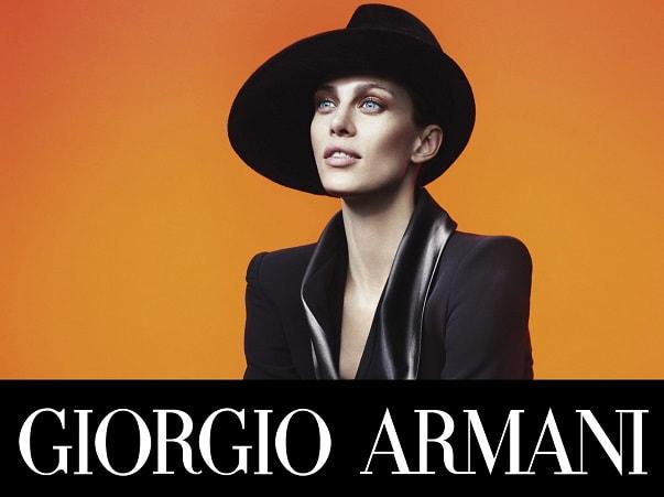Ennesima conferma dell  Alta Moda del maestro Giorgio Armani. adea9a313896